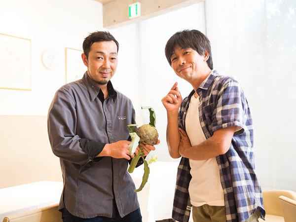 静井弘貴さんと武井敏信さん