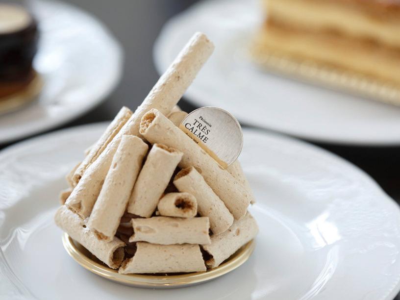 トレカルムのモンブランケーキ