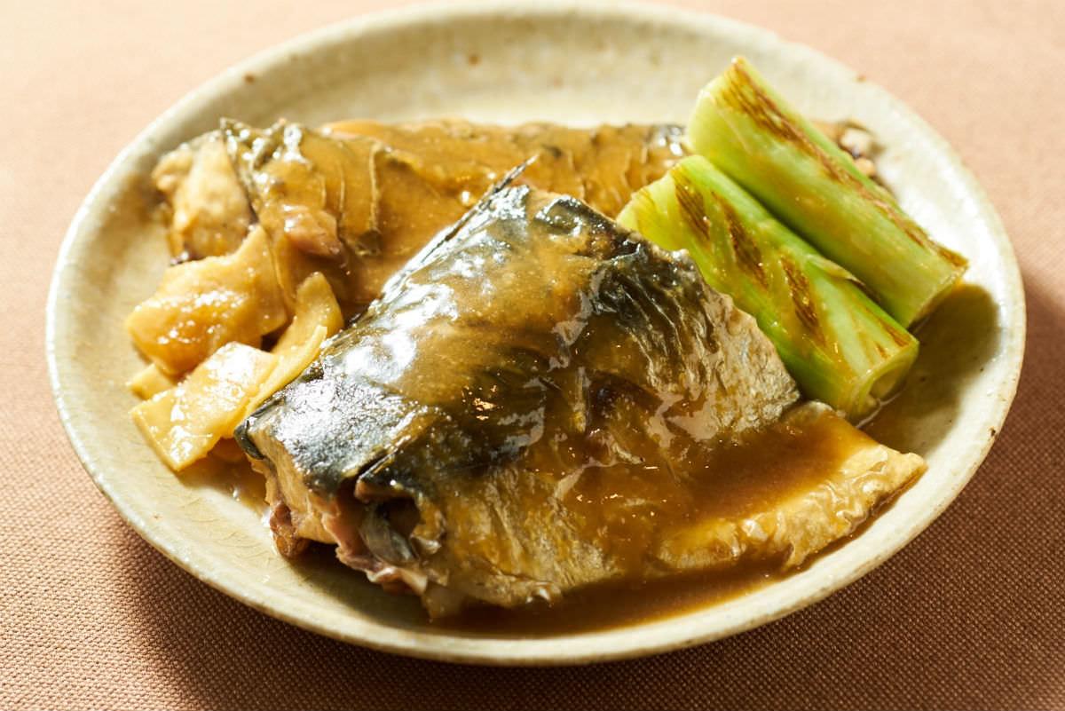 鯖の味噌煮の画像