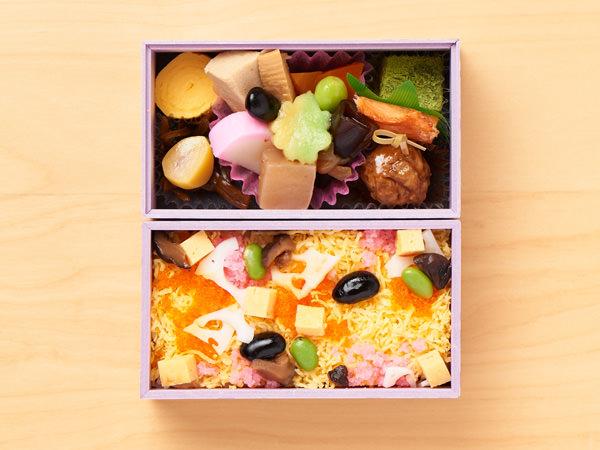 懐石料理 青山の「ちらし弁当」