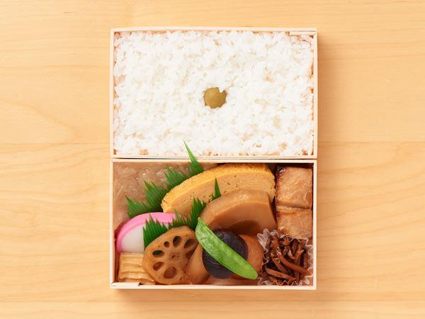 日本橋弁松総本店の「並六 白飯」