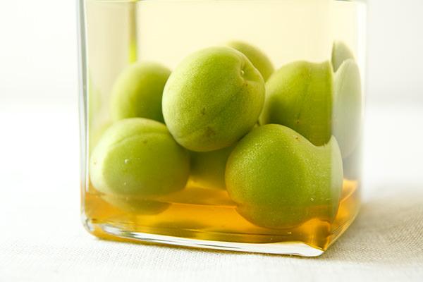 日本酒で作るはちみつ梅酒