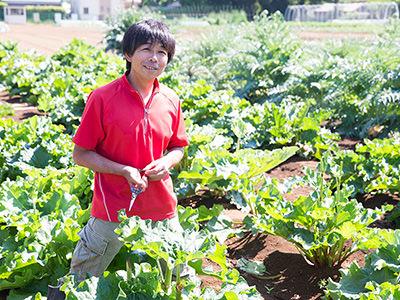 TAKEI FARMの代表・武井敏信さん