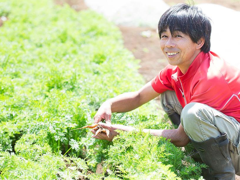 TAKEI FARMの代表武井敏信さん