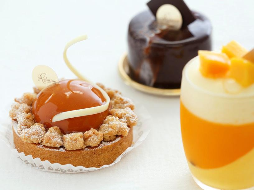 ルラシオン アントル レ ガトー エ ル カフェのケーキ
