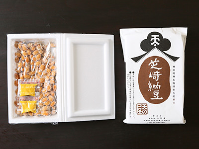 芝﨑納豆パッケージ