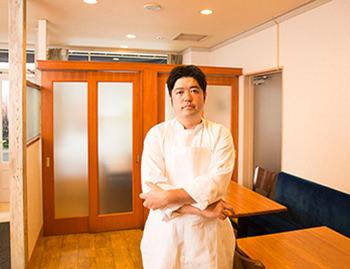 レストランサカキの榊原大輔さん