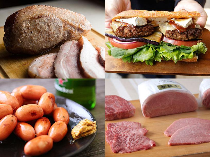 いろいろな肉のイメージ写真