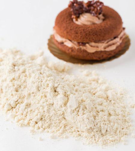 辻口シェフが開発した大豆粉の「スイーツ粉」