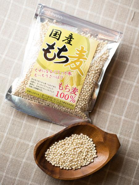 もち麦の素材写真