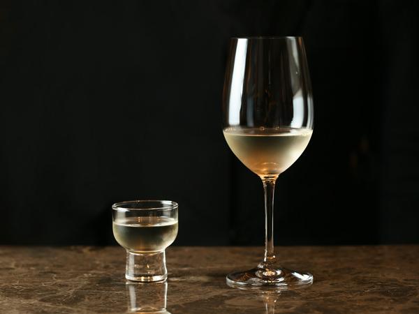 大吟醸グラスとぐい呑み