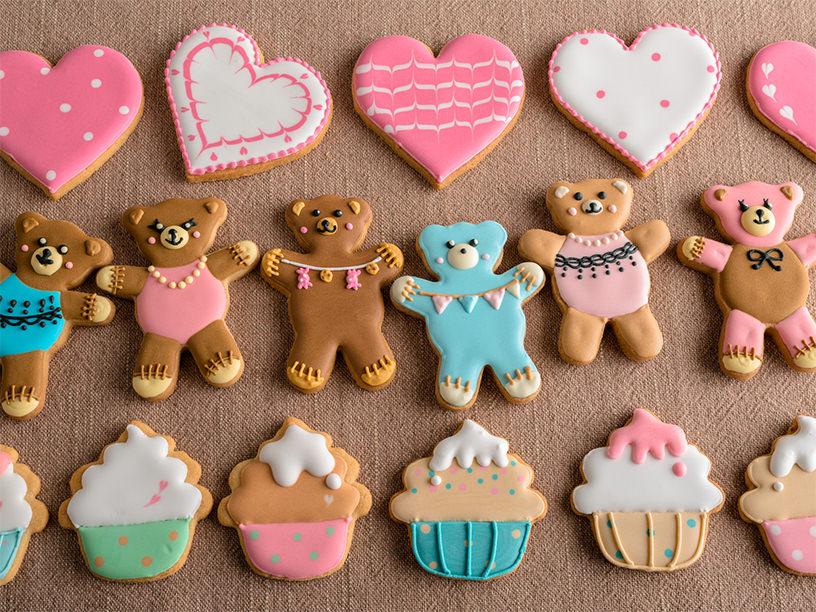 アイシングクッキーのイメージ