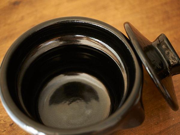 雲井窯の御飯鍋の厚み