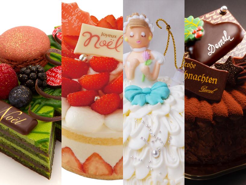 伊勢丹新宿店で当日購入できるクリスマスケーキの集合