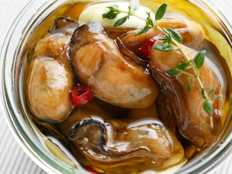 牡蠣のオイル漬けイメージ