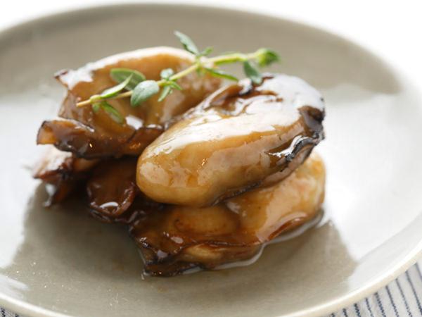 牡蠣のオイル漬けのでき上がり