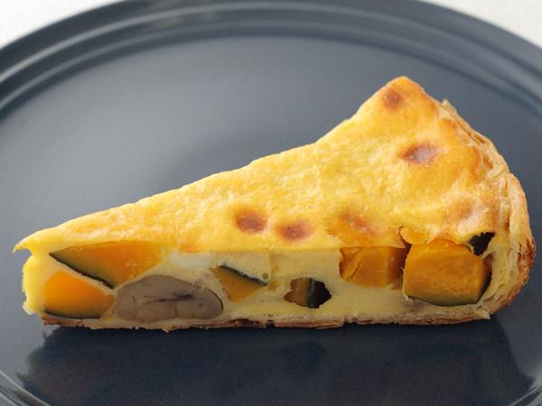 レブレの栗と南瓜とクリームチーズの豆乳キッシュ