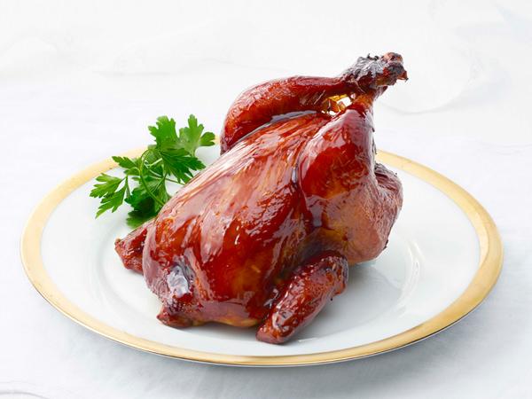 柿安ダイニングの丸鶏のロースト