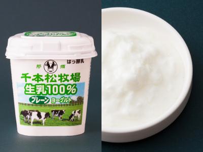 ホウライの千本松牧場 生乳100% プレーンヨーグルト