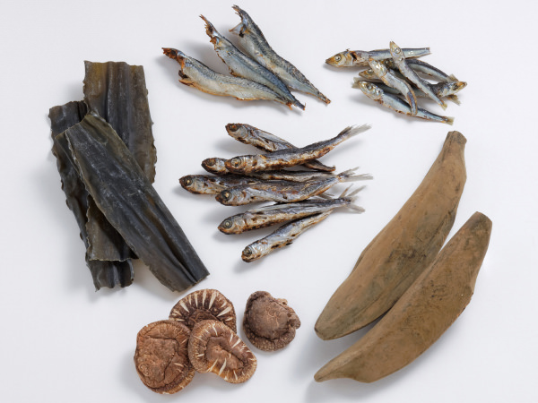 味の兵四郎のだしパックに使われる6種の素材