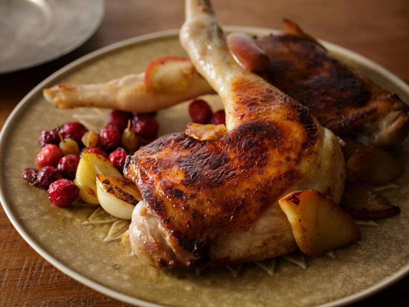 鶏もも肉のフライパンソテーのイメージ