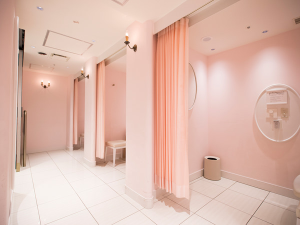 伊勢丹新宿店本館6階の授乳室