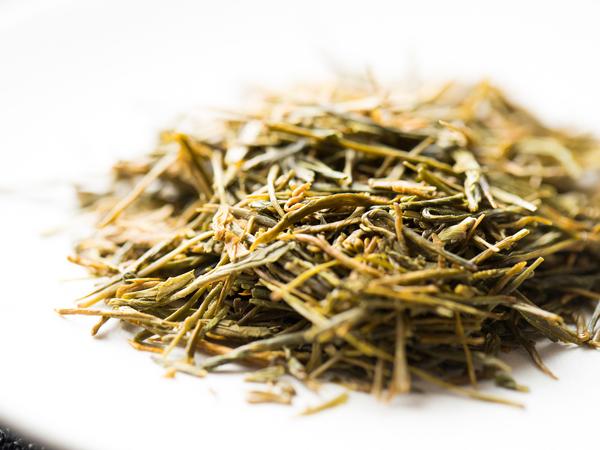 黄金みどりの茶葉