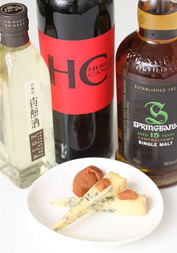 ブルーチーズとハチミツ梅干のマリアージュ