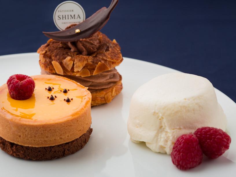 パティシエ・シマの3種のケーキ