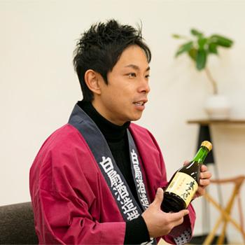 白扇酒造 加藤祐基さん
