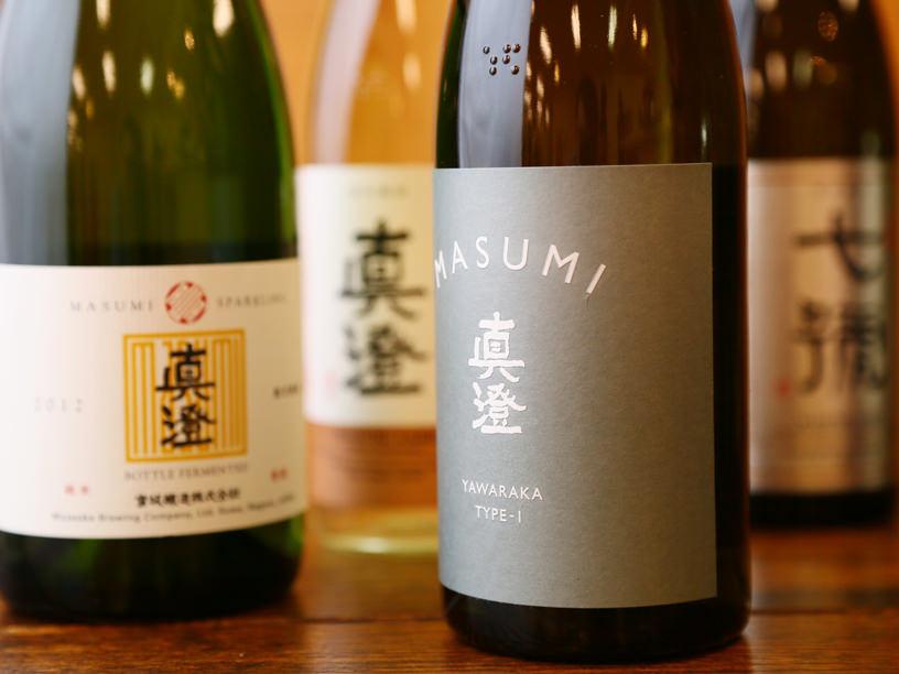 宮坂醸造の真澄のラインナップ