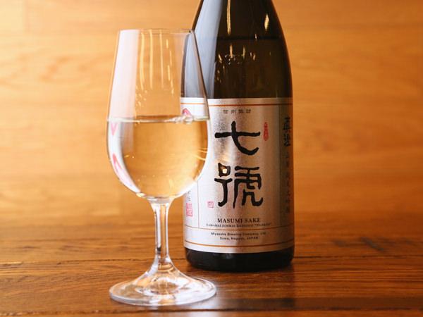 宮坂醸造の純米大吟醸 七號