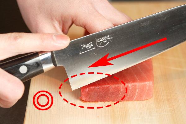 プロ直伝! キレイに切ると美味しくなる、刺身の正しい切り方 | 三越 ...