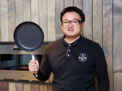 営業部長の森若栄一さん