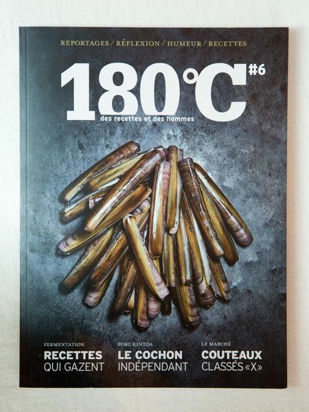 雑誌『180℃』の表紙