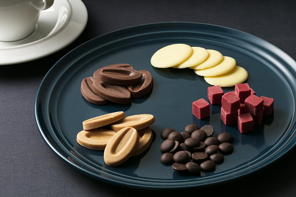 そのまま食べても美味しい製菓用チョコレートのイメージ