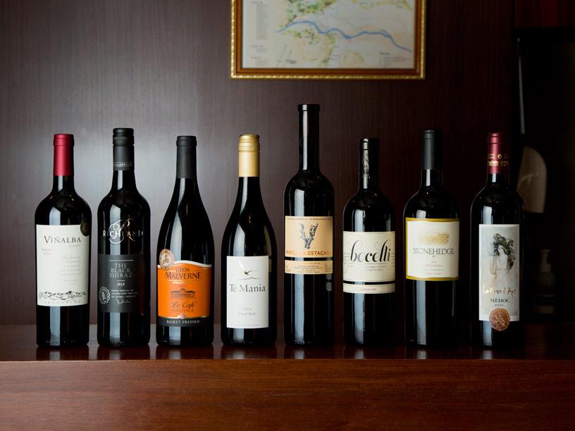 世界の代表産地 赤ワイン8本セット