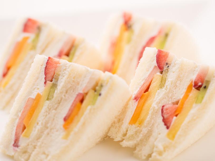 日本橋千疋屋総本店のフルーツサンドイッチ
