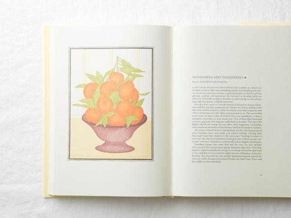 アリス・ウォータースのCHEZ PANISSE FRUITの挿絵