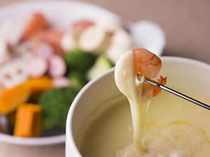 チーズフォンデュのイメージ