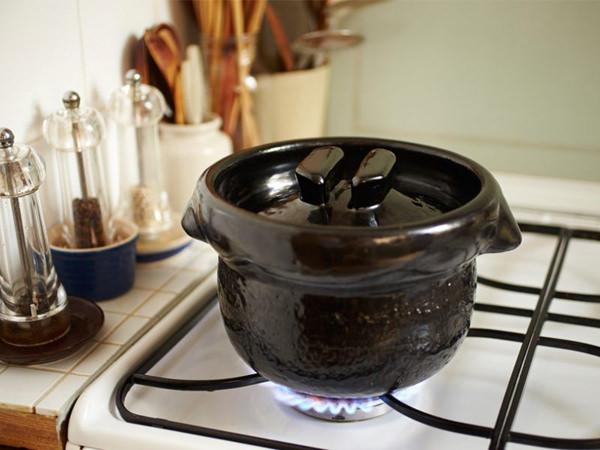 雲井窯の御飯鍋