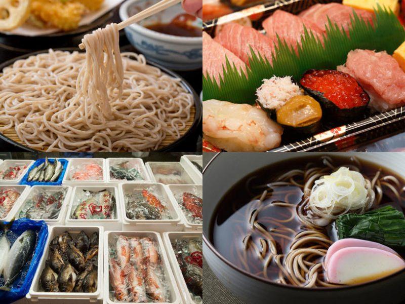 江戸前の食べ物のイメージ