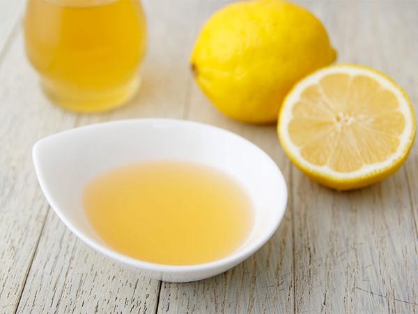 レモンで作った塩ぽん酢