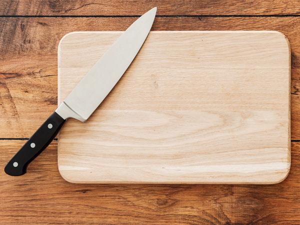 木のまな板のイメージ