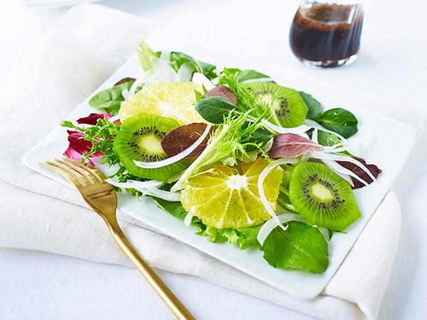 河内晩柑のフルーツサラダ