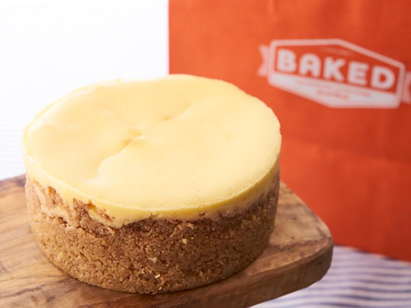 ベイクドのチーズケーキ