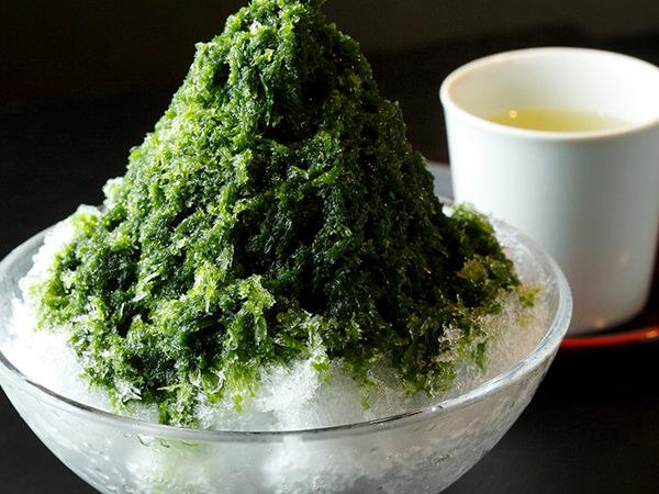 虎屋菓寮の宇治抹茶