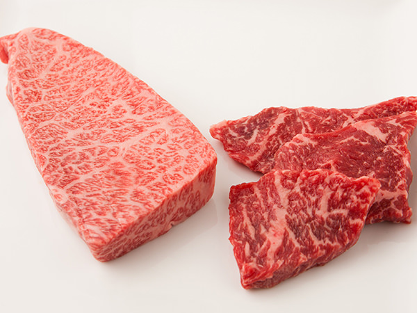 冷凍保存に向く霜降り肉と冷凍に向かない赤身