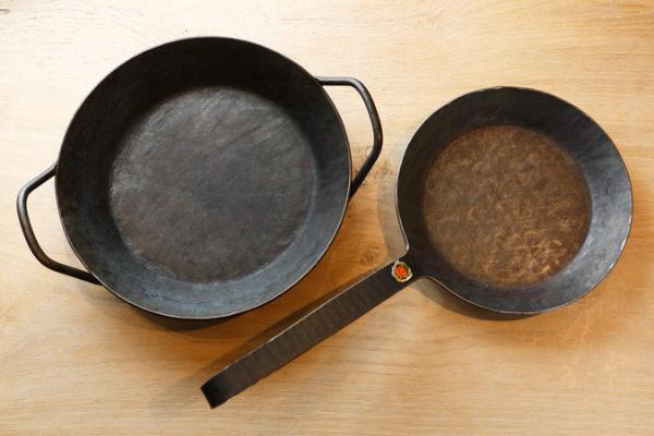 タークのグリルパンとフライパン