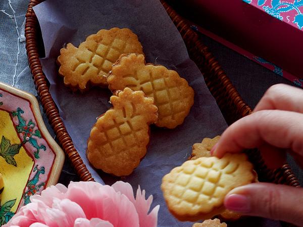 リーポールのパイナップルジャムサンドクッキー